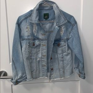 Wild Fable Distressed Jean Jacket